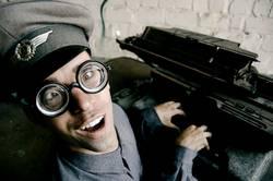 Karl - Die Schreibmaschine ist seine große Liebe
