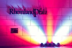 Rheinland Pfalz Buchstaben und Licht