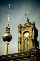 Postkarte aus Berlin