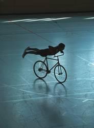 Fahrrad-Flug