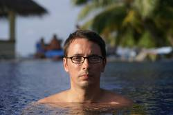 me in the pool - again