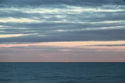 Insel am Horizont