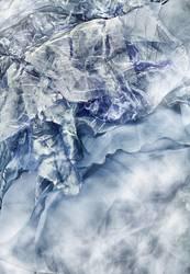 Schuppen im Nebelmeer