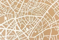 Stadtplan Struktur