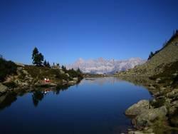 Dachstein im Spiegelsee