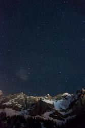 Sternenhimmel Dachstein Bergstation