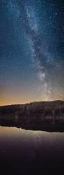 Die Milchstraße überm Hafnersee