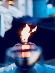 Feuer Lampe