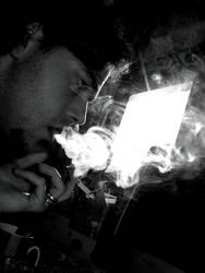 smokin` in the boys room