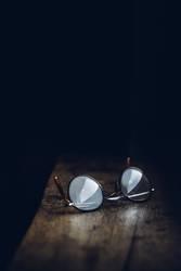 Licht und Schatten und eine Brille