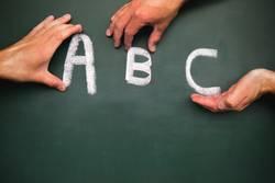 A, B und C