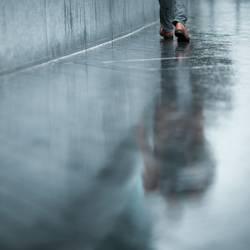 durch den Regen