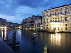 Canal Grane in der Nacht