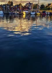 Wasser, Hafen, Boote