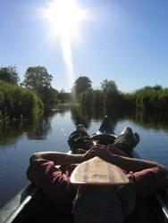 canoa tranquilo