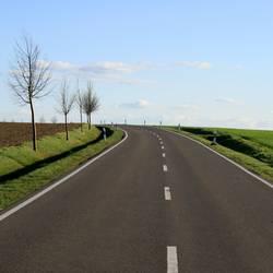 Zum Horizont, bitte links herum