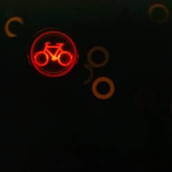 I don't like the red bike.