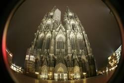 Der Kölner Dom (frontal III)