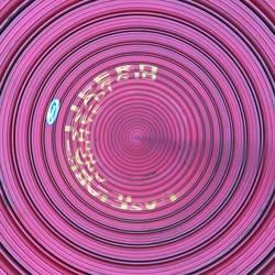Pink. Circle.