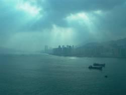 Cloudy Morning in HK