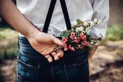 Blumen für die Liebe.