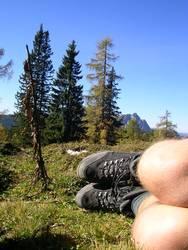 Wandern und Bergsteigen: These boots...