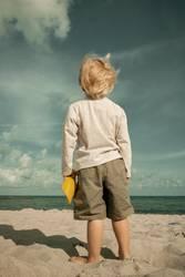Der kleine Mann und das alte Meer