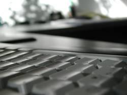 Keyboard Blur