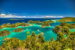 Fam Islands, Raja Ampat, Indonesia