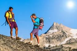 Climbing team on the summit.
