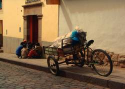 en la calle -cuzco