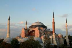 The Beautiful Hagia Sofia in Istanbul