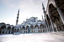 Drama in Istanbul - Blue Mosque, Turkey