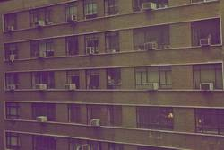 Wohnungsfront NY