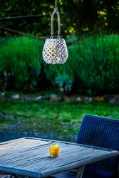 Candle lantern and table