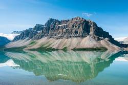 Bow Lake in Banff National Park, Canada