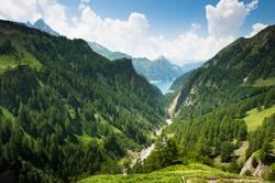 Lago di Luzzone, upper Blenio valley, Tessin