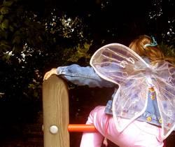 Fee Dénise lernt fliegen.