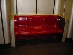 U-Bahn Plastikbank