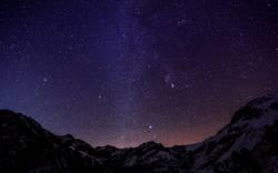 Sterne in den Bergen III