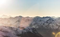 Bergsilhouetten