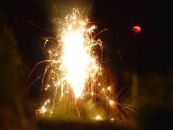 Sprühfeuerwerk #1