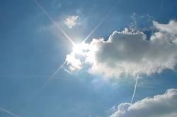 Die Sonne schafft es immer