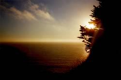 Sonnenuntergang über Pazifik
