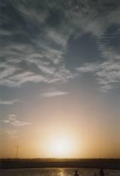 Sonnenuntergang in Tunesien