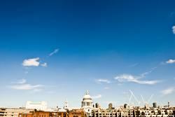 London von der Millenium bridge