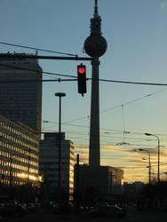 abends am alex/berlin