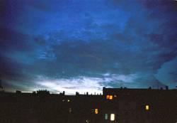 Berliner Nachthimmel