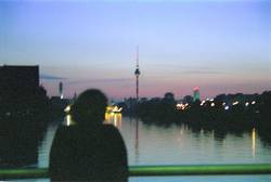 Berlin: Spree bei Nacht