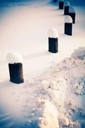 winterliche Poller-naise